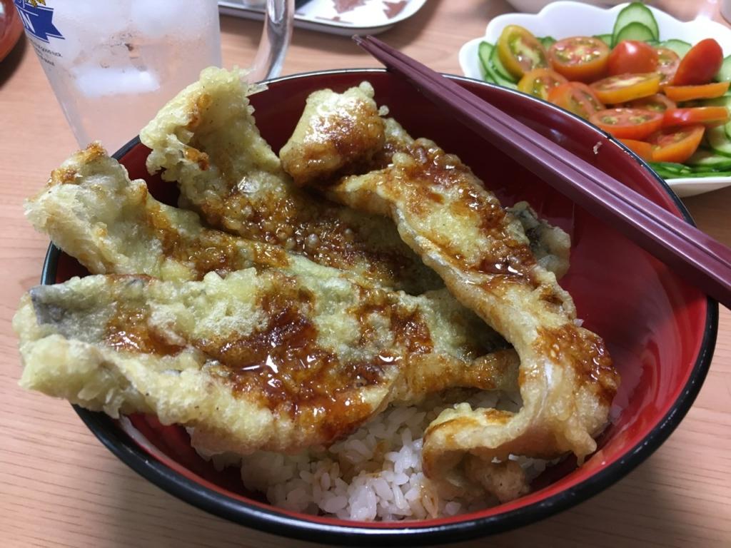 タチウオ天丼